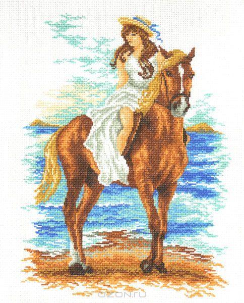 Вышивка крестом всадник